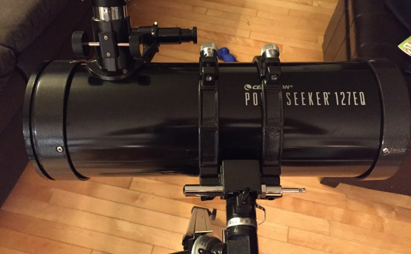How to fix PowerSeeker 127eq tripod