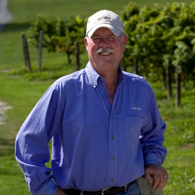 Scott Osborn, Owner and President of Fox Run Vineyards
