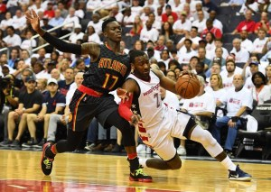 Wizards Fall to Hawks to Even Series