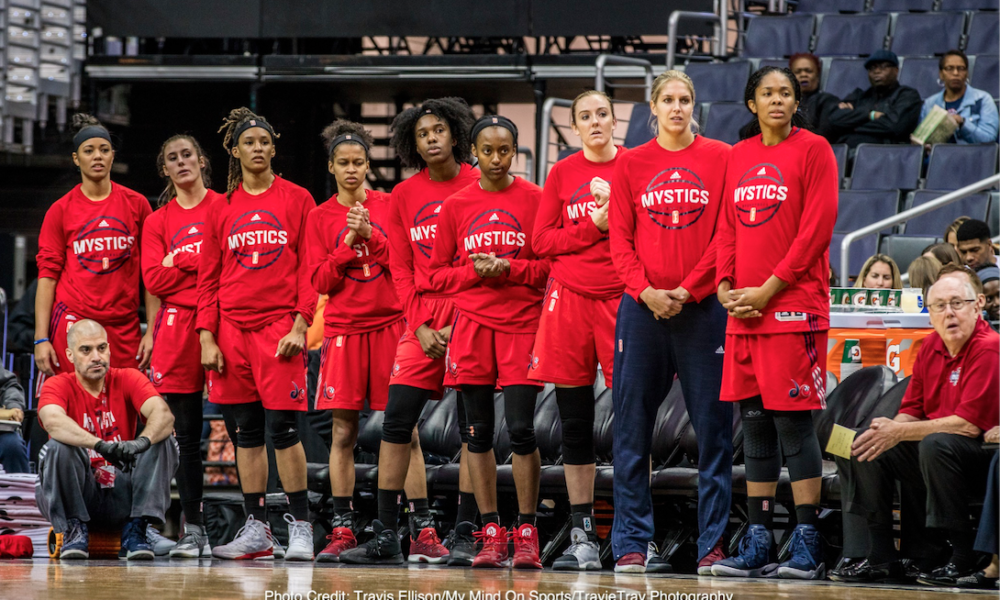 Mystics Looking Ahead Remaining Aggressive
