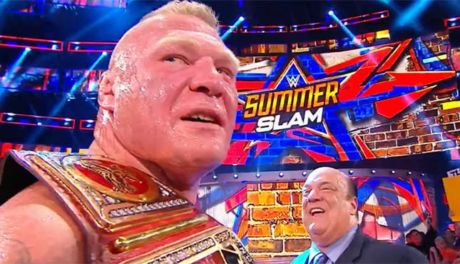 SummerSlam Review: The Beast Came To Destroy