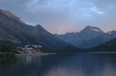 Many Glacier Lodge, Glacier National Park, USA