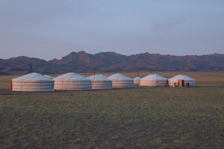 Dungeree Ger Camp, Gobi, 2006