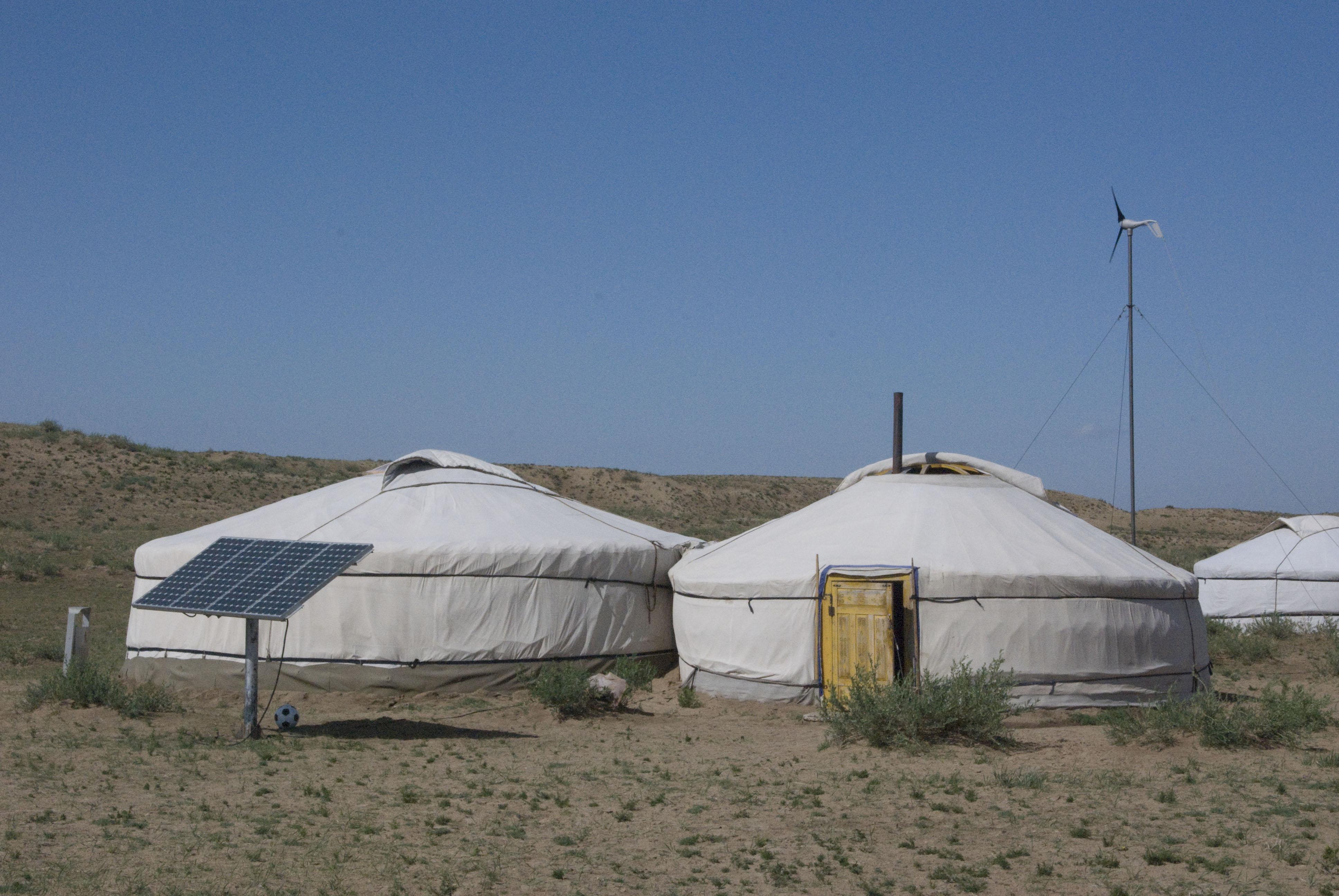 Sustainable energy at Arburd Sands