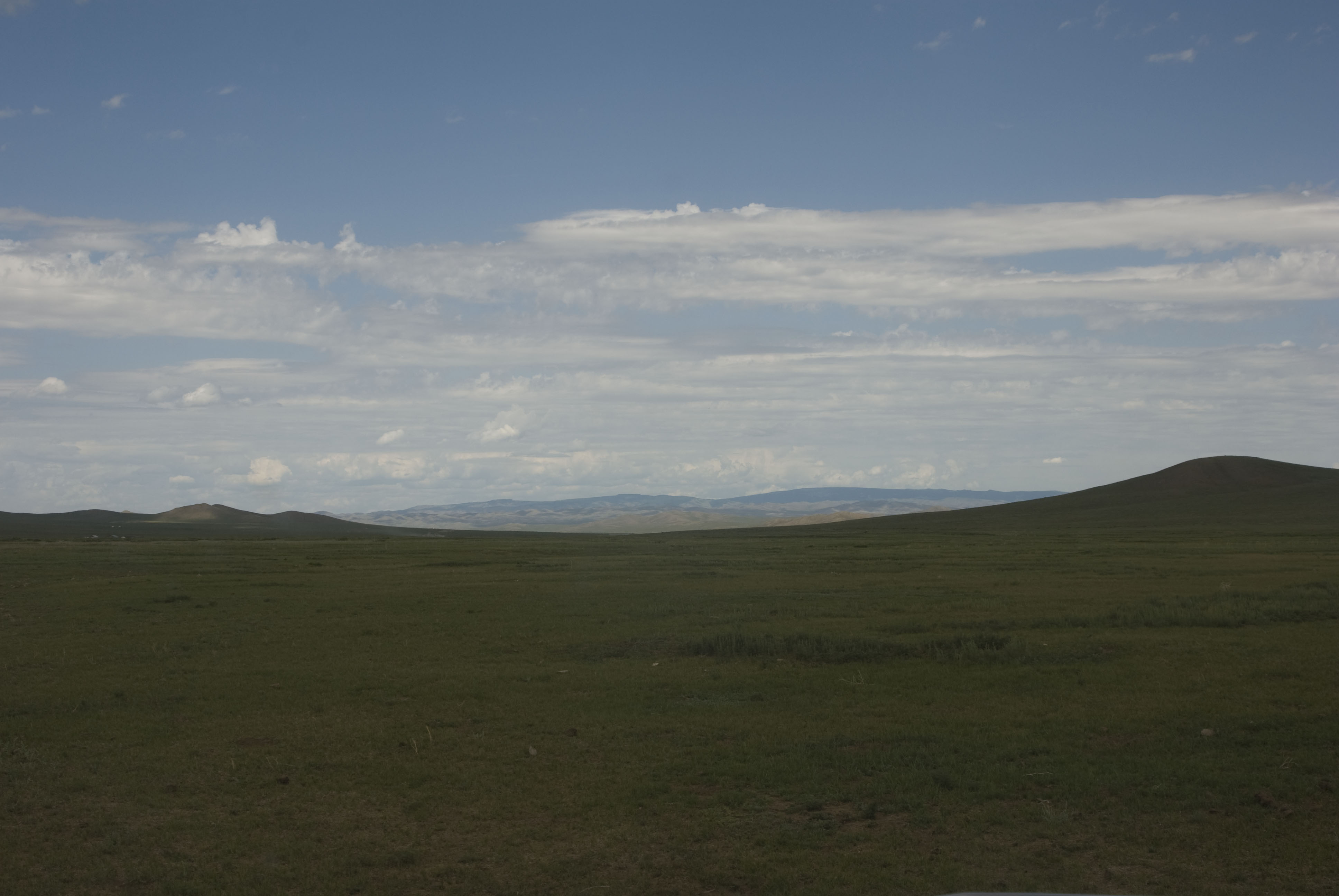 Bogd Khan Uul in the distance
