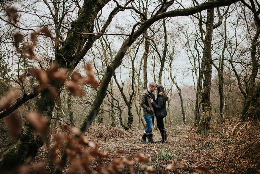 wedding photographer leeds Otley Chevin engagement photography West Yorkshire