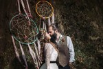 Boho woodland wedding by Fox tail Photography