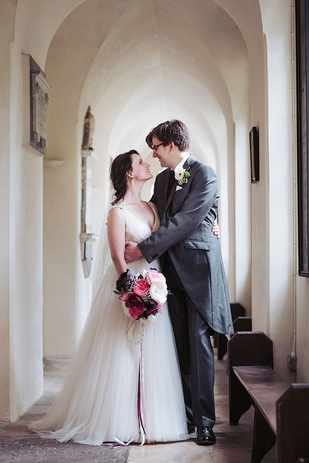DIY paper bouquet flowers | St Mary the Virgin church Tetbury wedding photographer | Cotswold Gloucestershire | Yorkshire wedding photographer