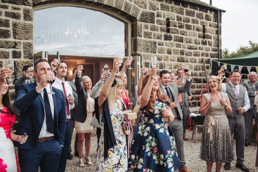 Cheerful Chilli Leeds barn wedding venue