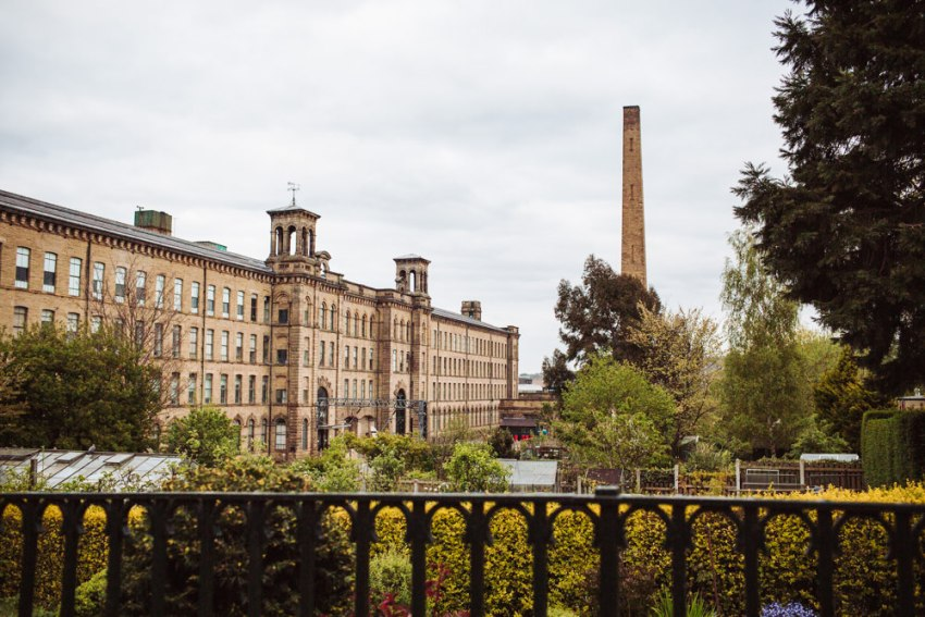 Salts Mill Saltaire wedding, Yorkshire.