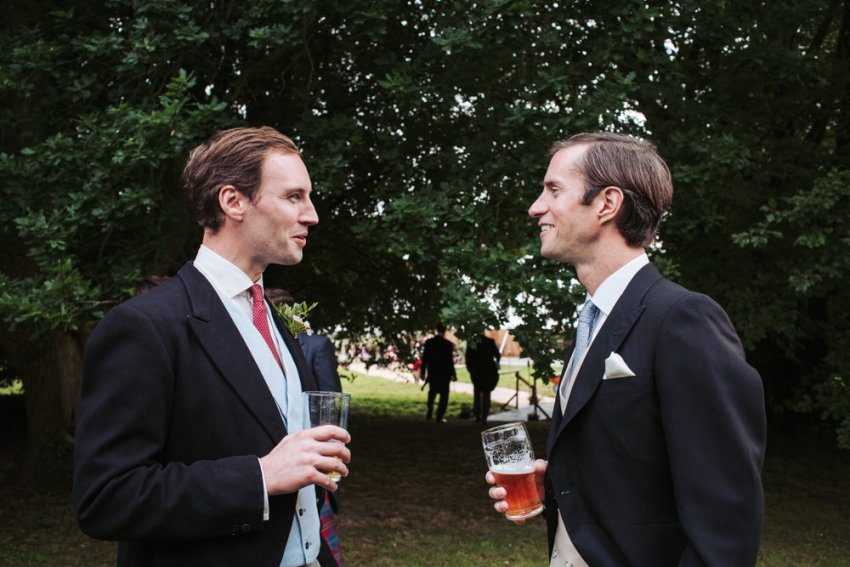 Natural candid guest photography by York wedding photographer