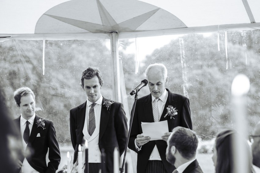 Father of the brides speech in Papakata marquee