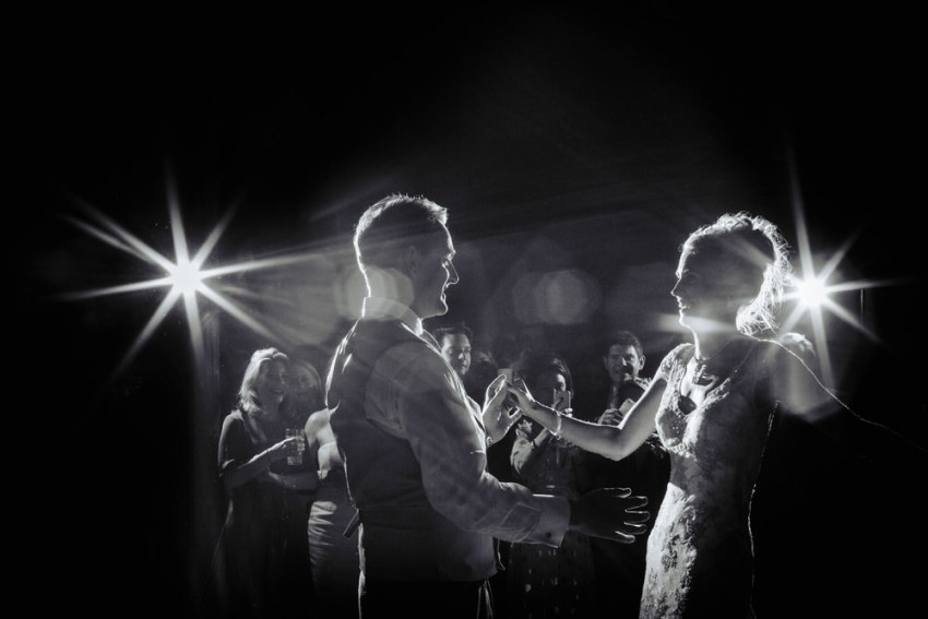 Bride and grooms first dance. York wedding photography UK