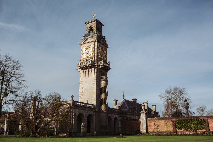 Clock Tower at Cliveden House | Decorative water tower