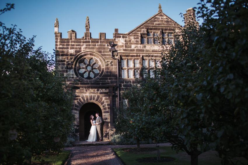 East Riddlesden Hall wedding. Yorkshire.