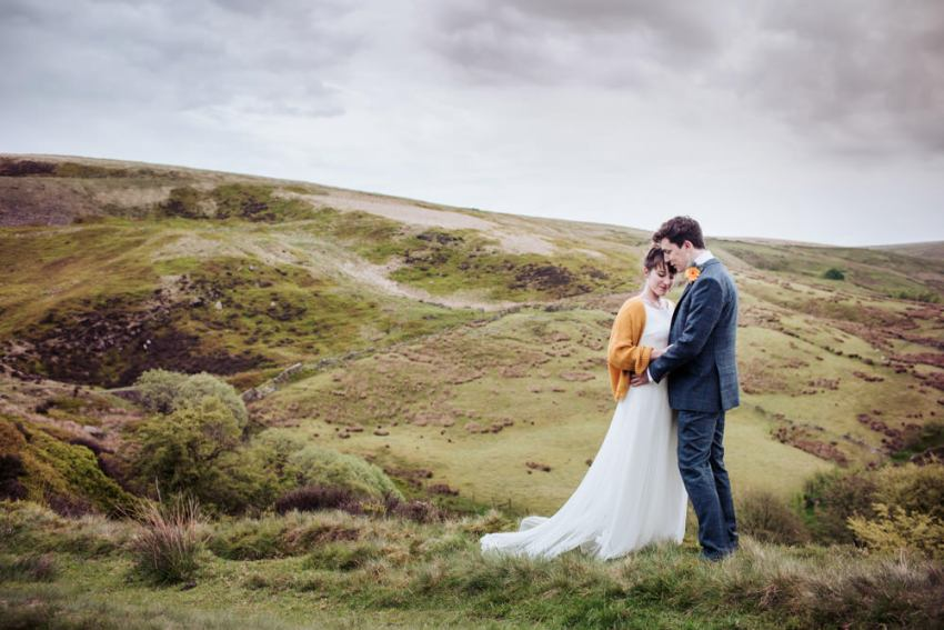 Best UK wedding photography. Standedge Tunnel Visitors centre wedding photography, Marsden.