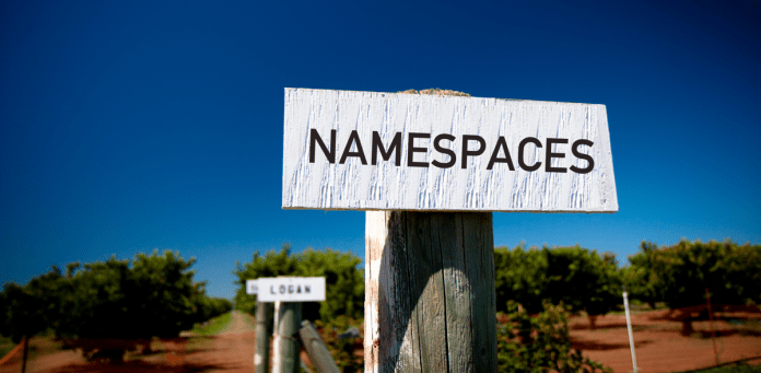 What is Namespaces and what are different Namespaces