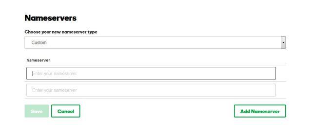 godaddy DNS entry