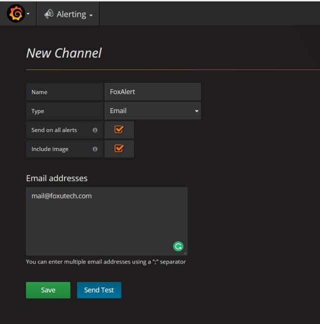 alert channel