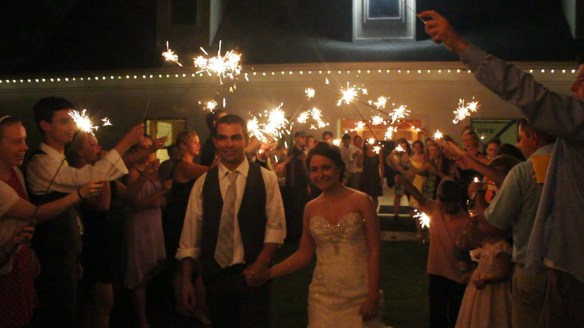 Sparkler Send Off (© Fox Video and Photography 2014)