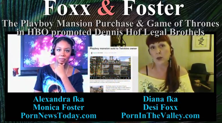 Foxx and Foster – The Playboy Mansion Purchase, Politics & HBO Promoted Game of Thrones Brothels