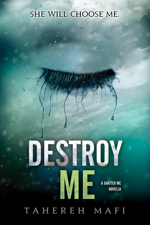 Destroy Me: A Shatter Me Novella Book Cover