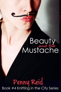 beauty and mustache cover