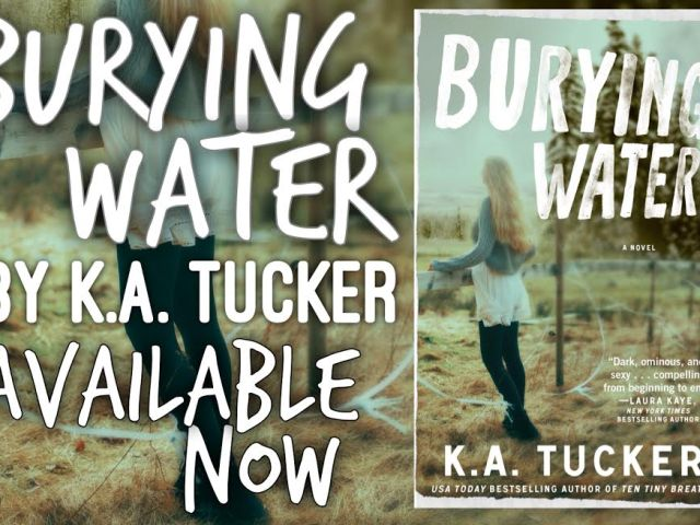 Burying Water by @kathleenatucker {release day + review + giveaway} @InkSlingerPR