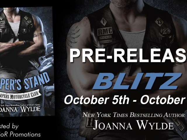 ♥Reaper's Stand♥ by @joannawylde  {pre-release blitz + giveaway} @RSofRomance