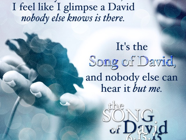 COVER REVEAL: The Song of David by @aharmon_author