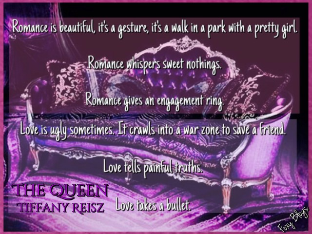 Happy release day – THE QUEEN by Tiffany Reisz