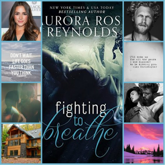 Fighting to Breathe by Aurora Rose Reynolds collage