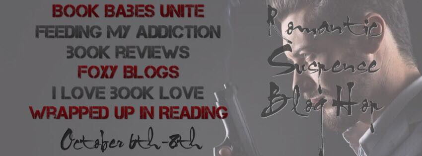 Romantic suspense blog hop banner