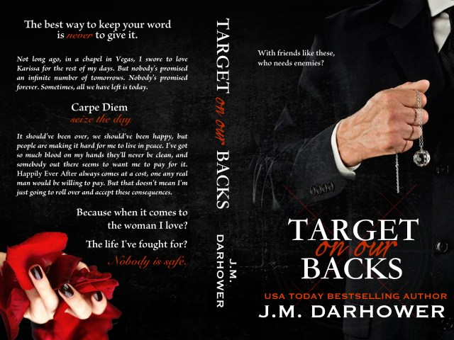 Cover Reveal: Target On Our Backs by @JMDarhower