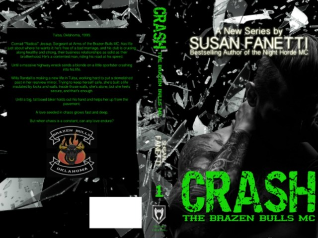 Surprise! Cover Reveal & Synopsis ~ CRASH by @sfanetti