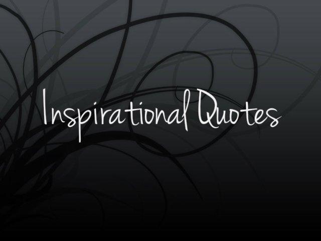 TAG: Facebook inspirational quotes (@Kimberley_Bee )