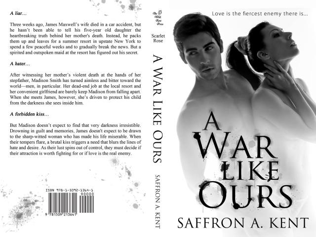 Cover Reveal: A WAR LIKE OURS by @SaffronAKent + #giveaway