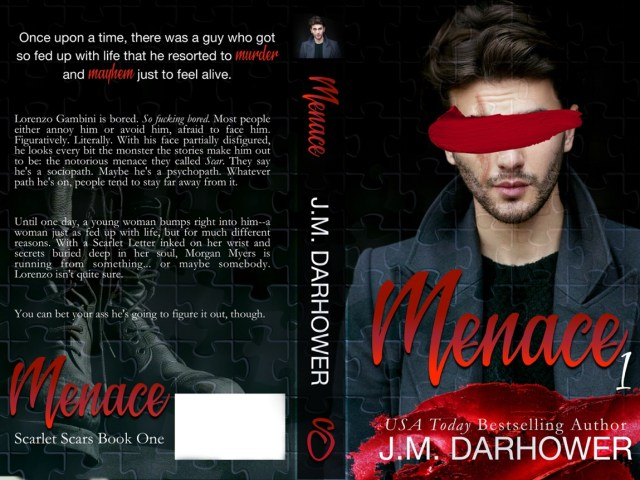 Cover Reveal ~ MENACE by @JMDarhower