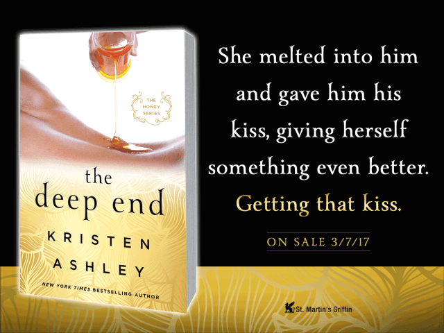 Blog Tour: THE DEEP END by @KristenAshley68 #excerpt @InkSlingerPR