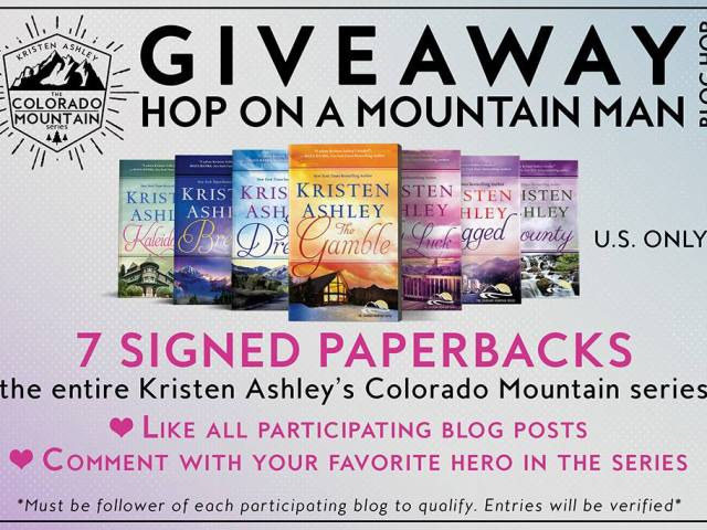 Hop on a Mountain Man blog hop  #giveaway on Facebook @KristenAshley68