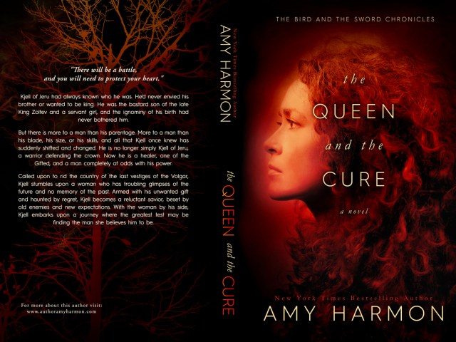 Cover Reveal ~ THE QUEEN AND THE CURE by @aharmon_author
