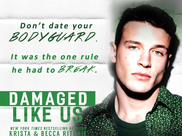 Happy Release Day: Damaged Like Us by @KBRitchie #giveaway