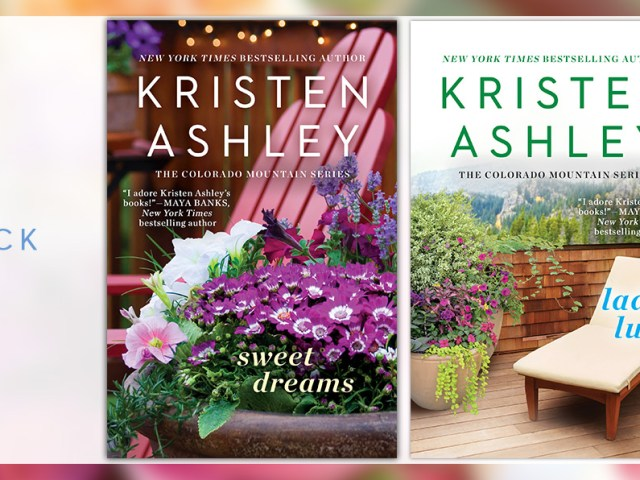 3 Beautiful New Paperback Covers for @KristenAshley68's Colorado Mountain series! + #giveaway