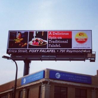 Foxy's On A Billboard