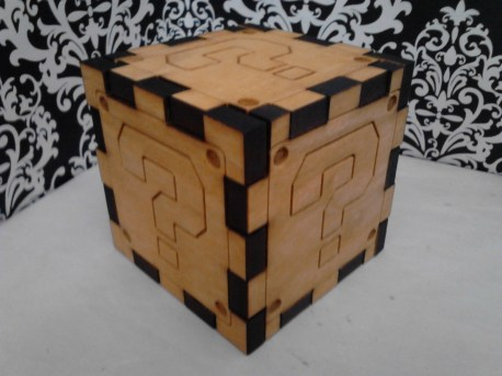 Super Mario Question Block, Puzzle Cube Style