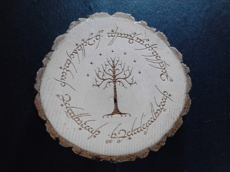 Tree of Gondor LOTR Magnet
