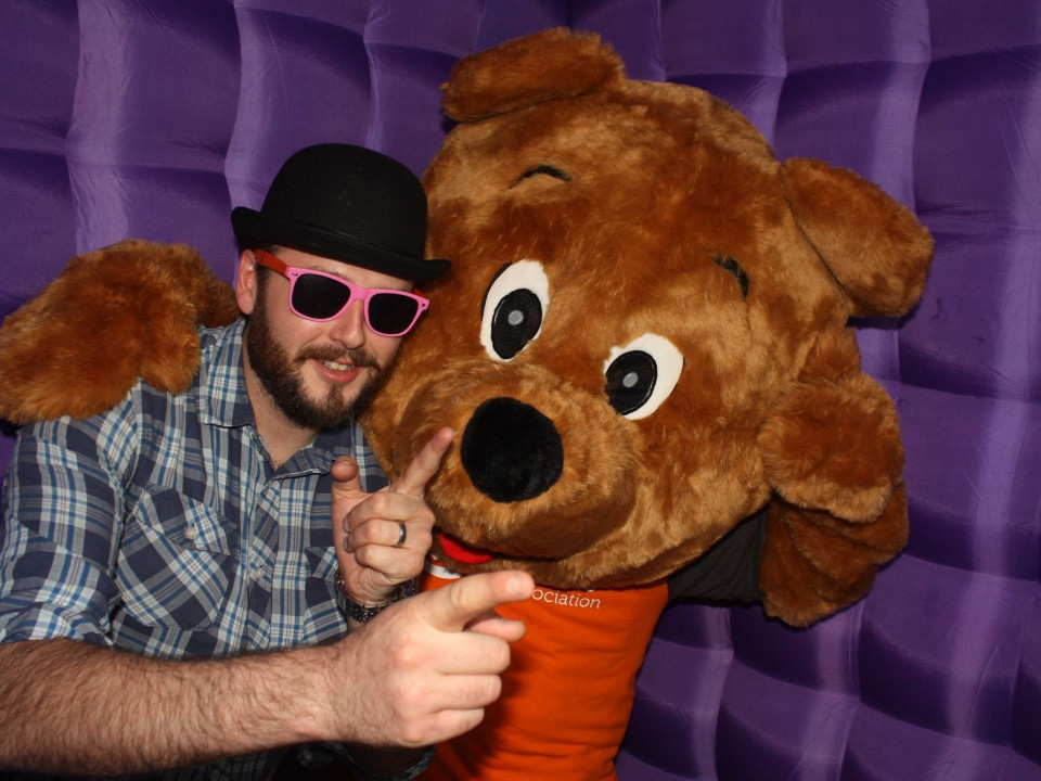 Foxy Photo Booth hire Glasgow City Centre