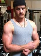 Rob Kazinsky Gym