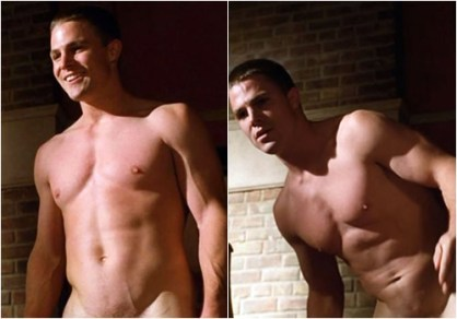 Stephen Amell naked in Hung