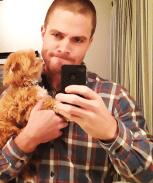 Stephen Amell Selfie